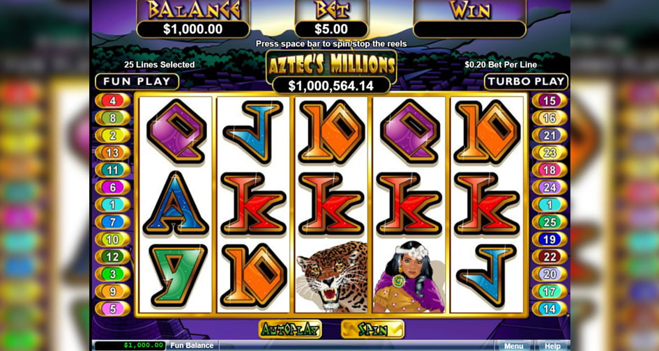 Aztecs Millions slot review