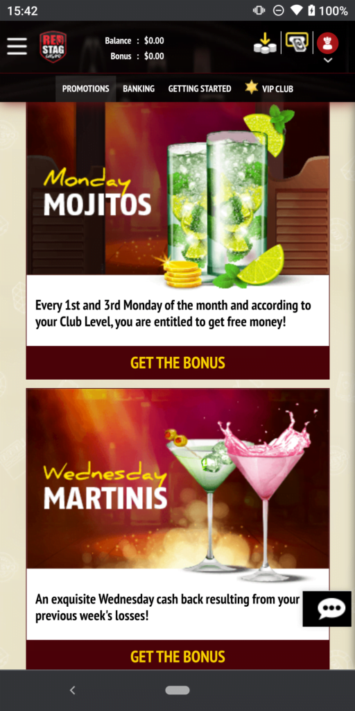red stag casino promotions